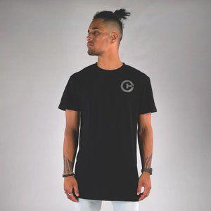 Cuzy T Men's Black Short Sleeve Print T-Shirt